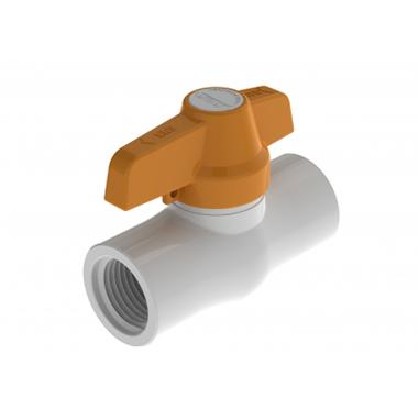 Válvula De Bola Compacta En PVC