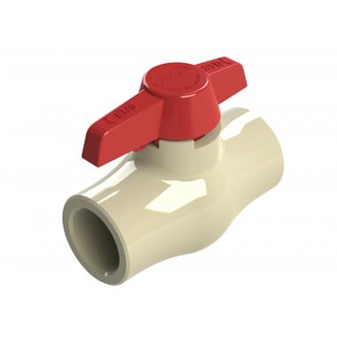 Válvula De Bola Compacta En CPVC Para Uso Con Agua Caliente - PCP