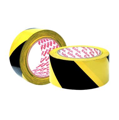Cinta Adhesiva de Señalización Amarilla / Negra