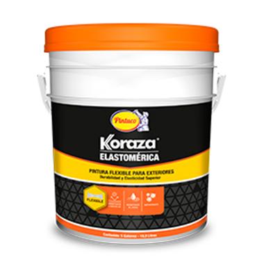 Koraza Elastomérica (exterior)