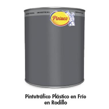 Pintutráfico plástico en frío en rodillo (Mantenimiento y Marinas)