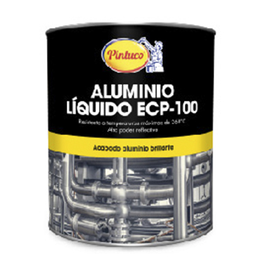 Aluminio Líquido Extrareflectivo Brillante ECP 100 (Mantenimientos y marinas)