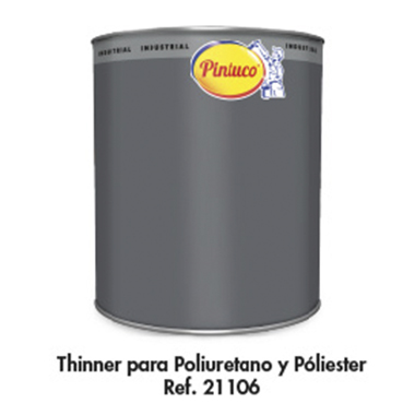 Thinner para Poliuretano y Poliéster Ref. 21106 (Automotriz)