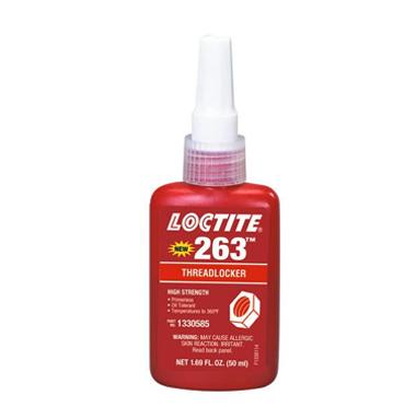 Loctite 263 Fijador de Roscas Fuerza Alta