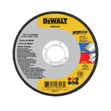 Disco Abrasivo Corte HP2 (Alto Desempeño)