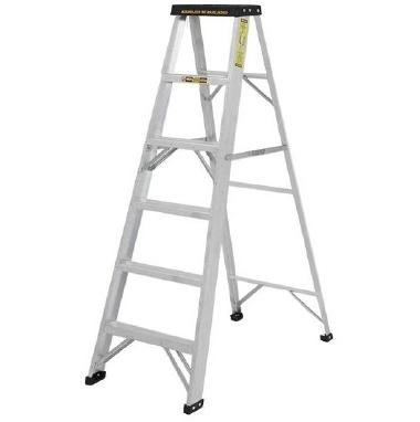 Escalera Doméstico Tijera En Aluminio